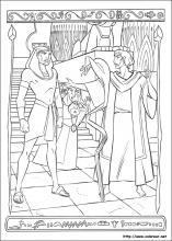 Dibujos de El príncipe de Egipto para colorear