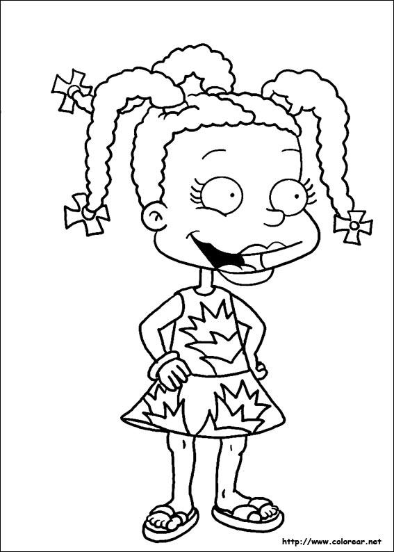 Dibujos de Rugrats - Aventuras en pañales para colorear en Colorear.net
