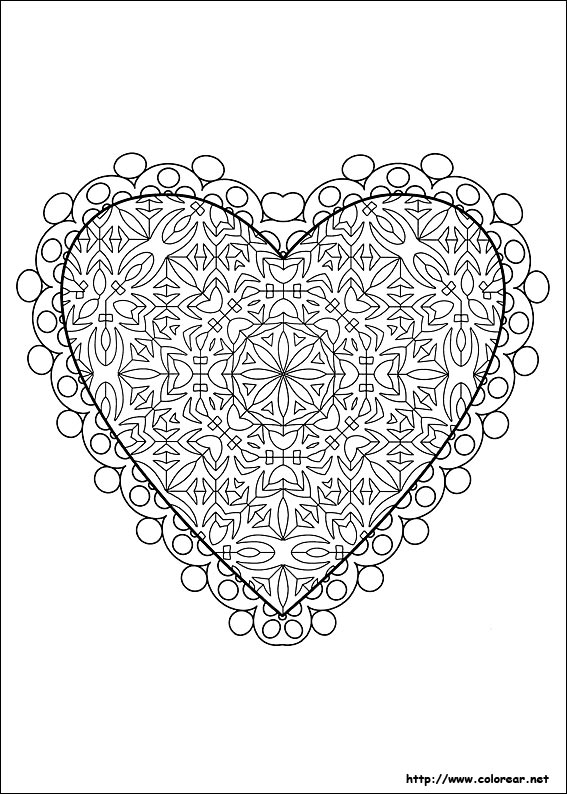 Circles Mandala Coloring Pages as well  also  as well Valentines Colour A4 further  additionally  besides  furthermore coloriage musique g 11 also  besides  besides . on valentine coloring pages hard mandala