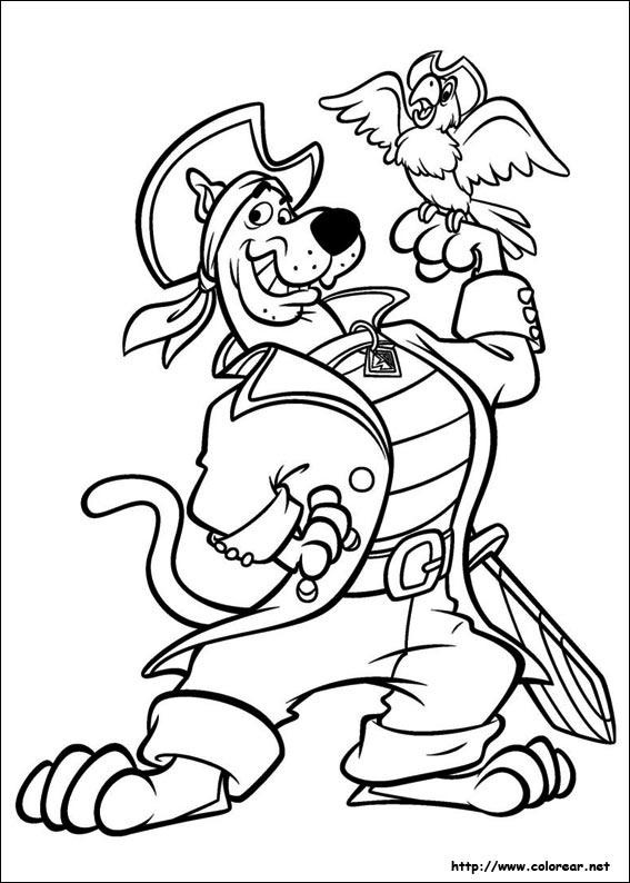 Dibujos para colorear de ScoobyDoo