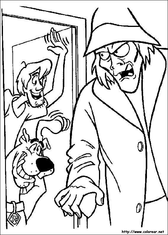 Dibujos Para Colorear De Scooby Doo