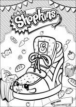 Dibujos De Shopkins Para Colorear En Colorear Net