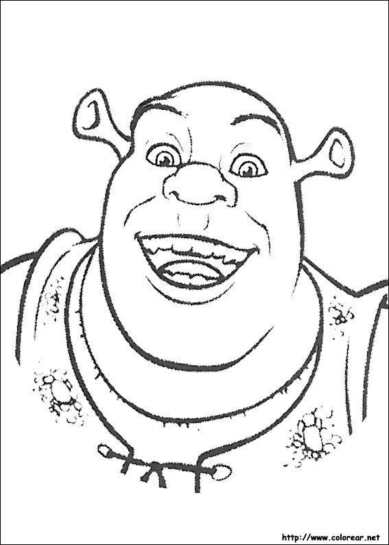 Dibujos de Shrek para colorear en Colorear.net