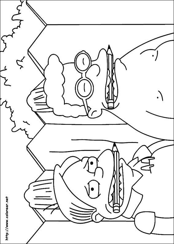 Dibujos de Los Simpson para colorear en Colorear.net