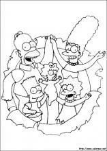 Dibujos De Los Simpson Para Colorear En Colorearnet