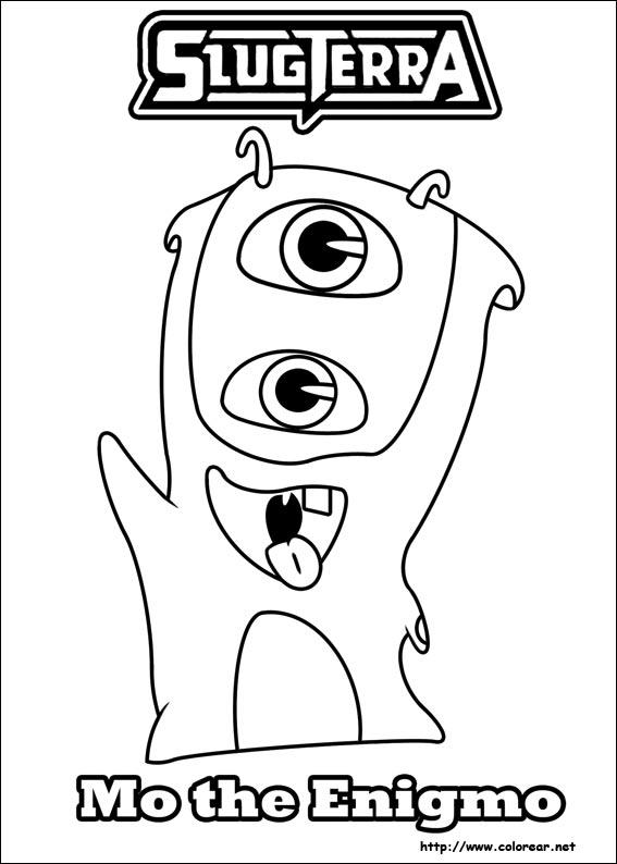 Dibujos de Slugterra para colorear en Colorear.net