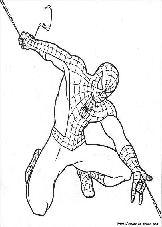Dibujos de Spiderman para colorear en Colorear.net