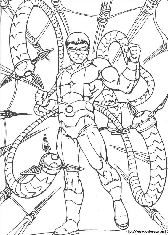 Mobile/ultimate Spider Man Rhino Coloring Pages Coloring Pages