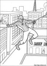 Dibujos De Spiderman Para Colorear En Colorearnet