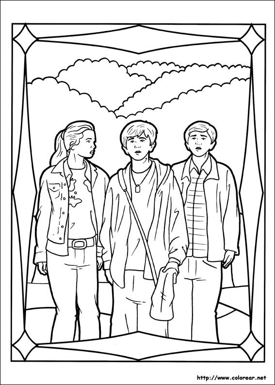 Coloring Pages Spiderwick