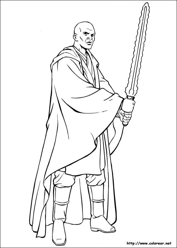 Dibujos para colorear de Star Wars