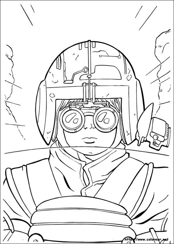 Dibujos de Star Wars para colorear en Colorear.net