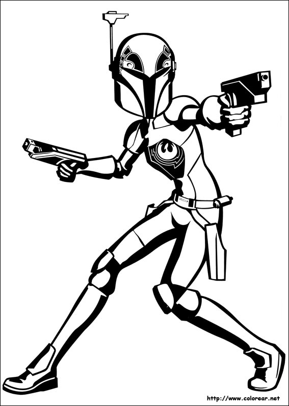 Star war rebels coloring pages