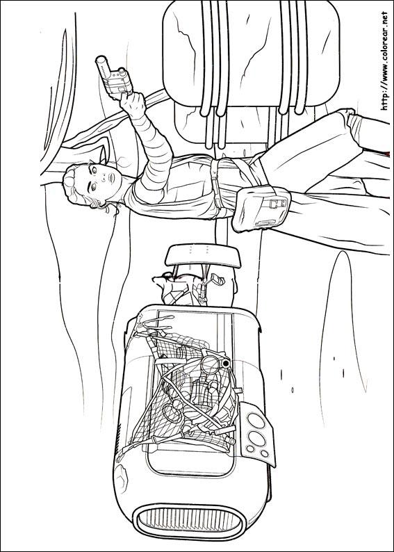 Dibujos de Star Wars: El despertar de la fuerza para colorear en ...