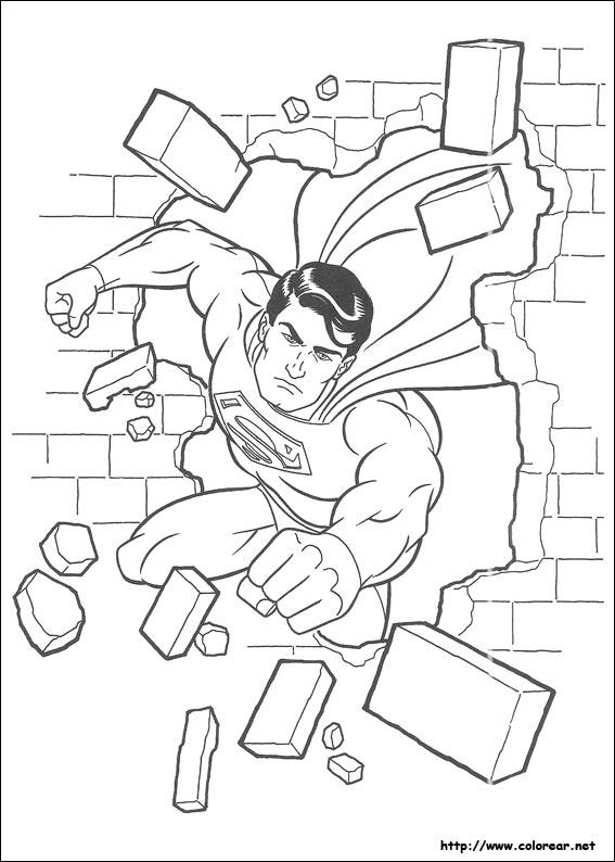 Dibujos de Superman para colorear en Colorear.net
