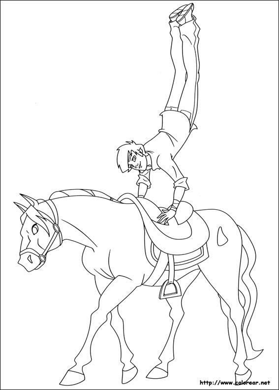 dibujos para colorear de the ranch