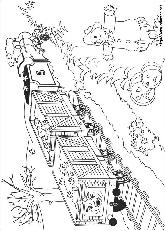 Dibujos Para Colorear On Line De Thomas Y Sus Amigos ~ Ideas ...