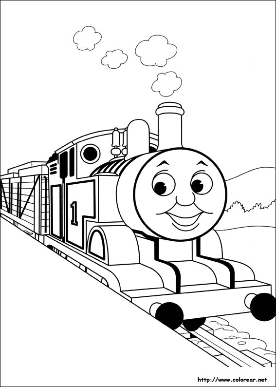 coloring pages thomas tank engine - photo#20