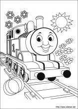 Dibujos De Thomas Y Sus Amigos Para Colorear