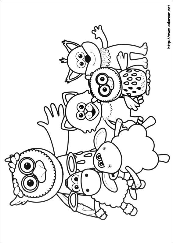 Dibujos para colorear de Timmy y sus amigos