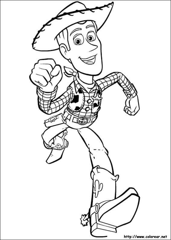 Dibujos de Toy Story para colorear en Colorear.net