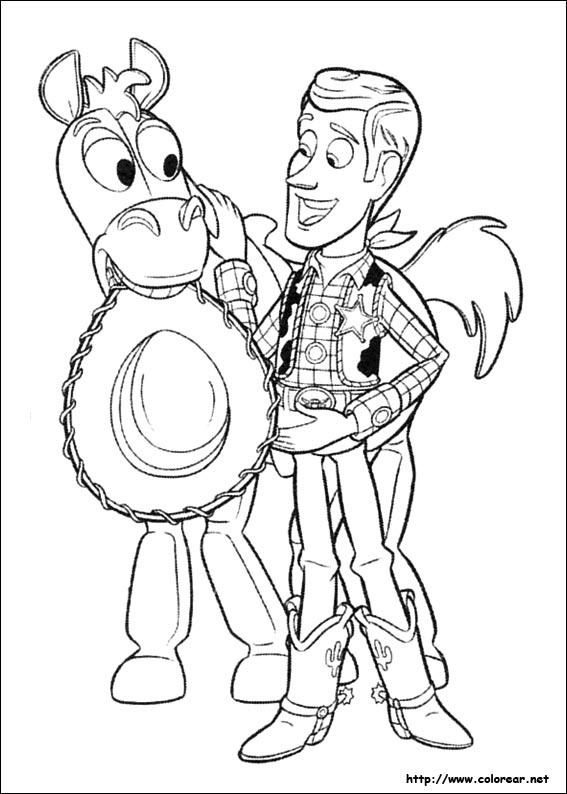Dibujos de Toy Story 3 para colorear en Colorear.net