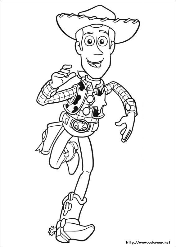 Dibujos De Toy Story 3 Para Colorear En Colorearnet