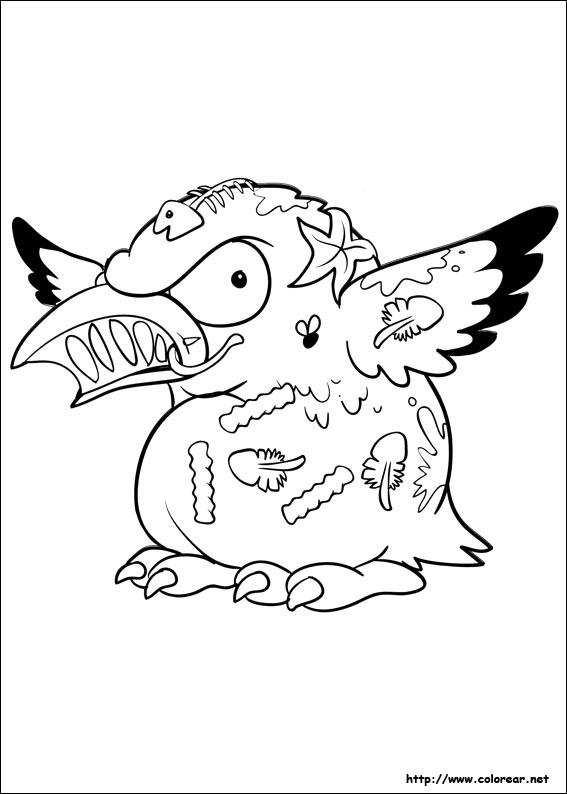 Dibujos para colorear de Los Basurillas