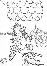 Dibujos De Trolls Para Colorear En Colorearnet