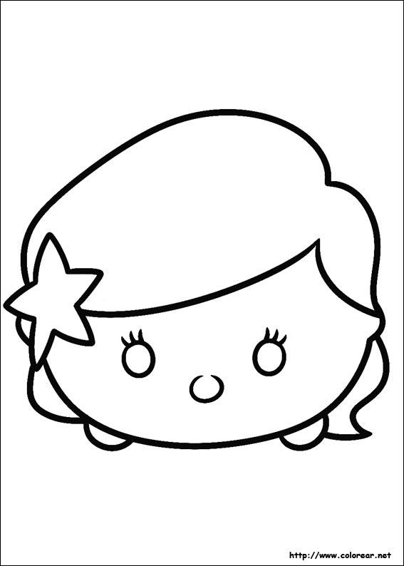 Dibujos de Tsum Tsum para colorear en Colorear.net