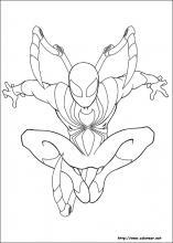 Dibujos De Ultimate Spider Man Para Colorear En Colorearnet