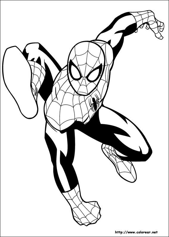 Dibujos para colorear de Ultimate Spider-Man