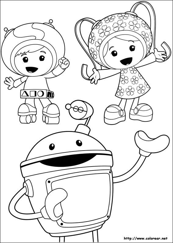 Dibujos de Umizoomi para colorear en Colorear.net