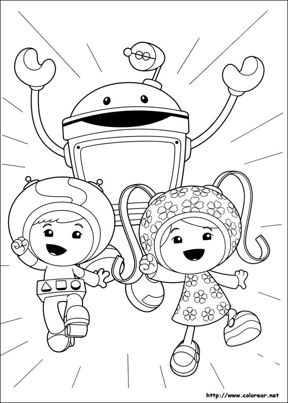 reese omi zoomi coloring pages - photo#10