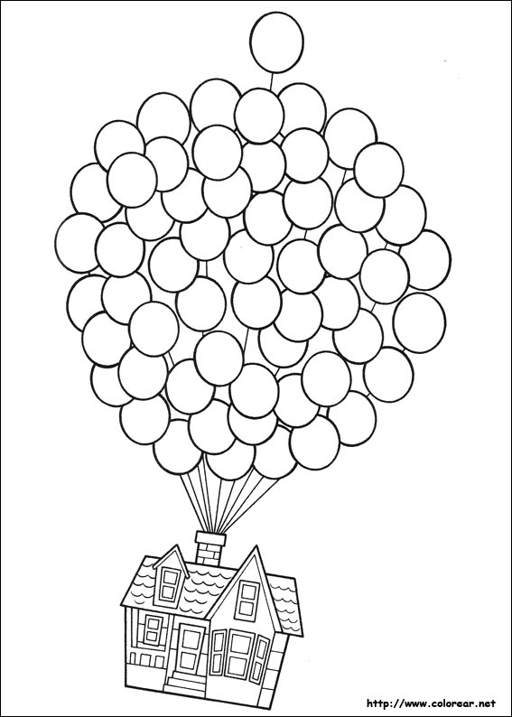 Dibujos Para Colorear De Up Una Aventura De Altura Coloring Pages For 7 And Up Printable