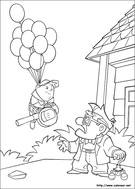 up kevin coloring pages - photo#28