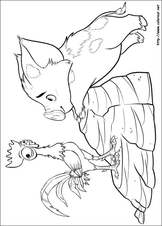 Dibujos De Vaiana Para Colorear En Colorearnet