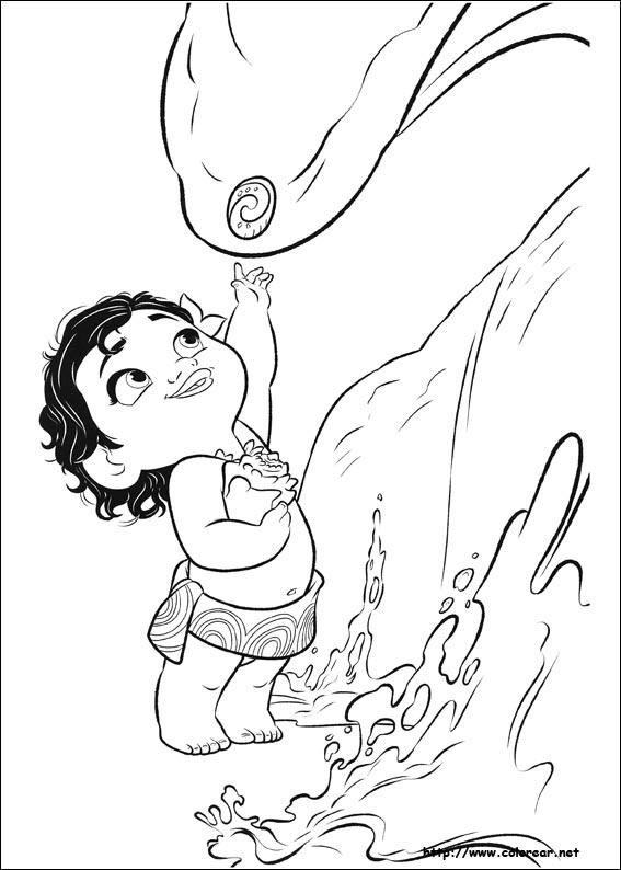 Dibujos para colorear de Vaiana