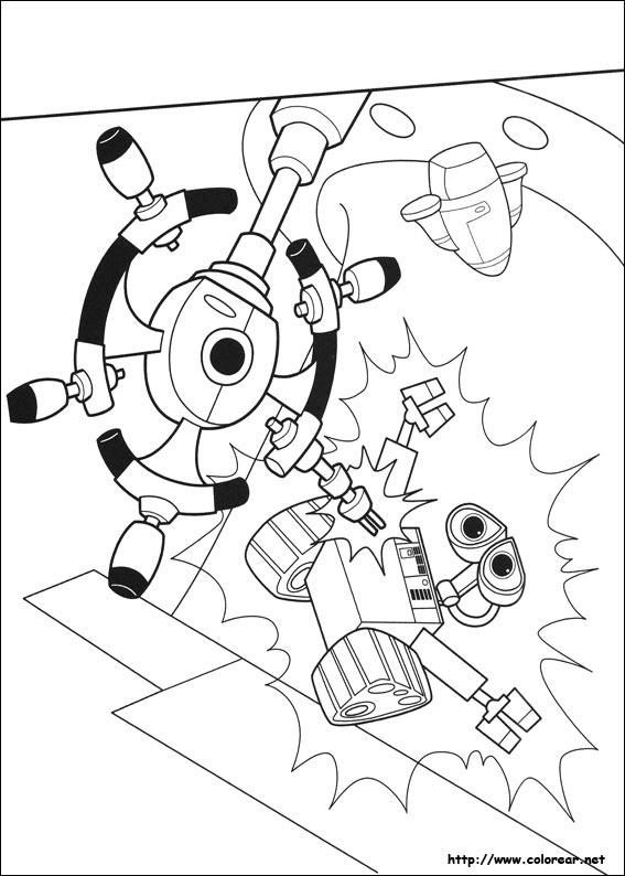 Dibujos para colorear de Wall-E