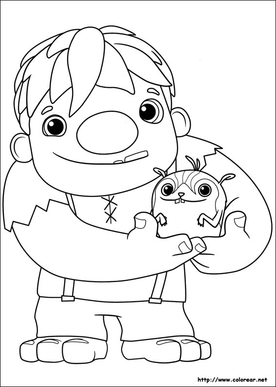 wallykazam coloring pages stan - photo #4