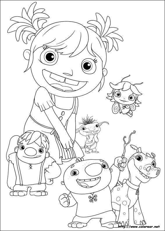 Dibujos Para Colorear De Wallykazam