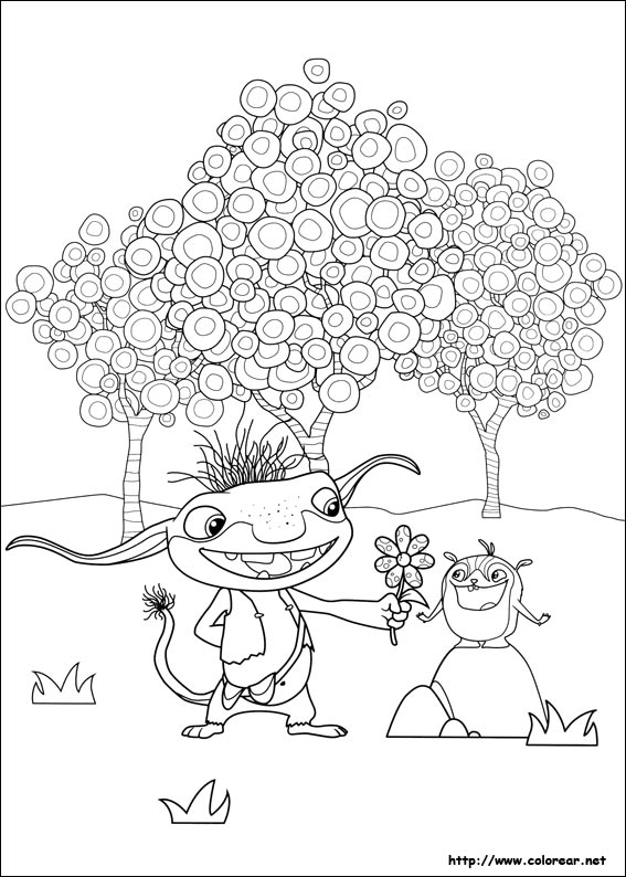 bobgoblin coloring pages | Wallykazam Coloring Pages To Print Coloring Pages