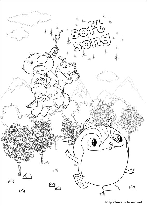 wallykazam coloring pages to print - photo #19