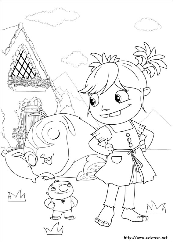 wallykazam coloring pages stan - photo #6