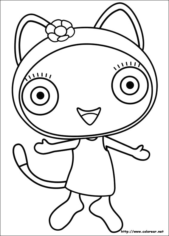 Geometry Dash Coloring Page