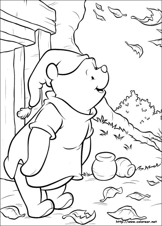 Dibujos para colorear de Winnie Pooh