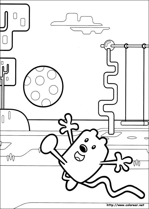 wow wow wubbzy coloring pages - dibujos para colorear de wubbzy imagui