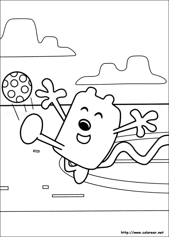 wa wa wubbzy coloring pages - photo #15
