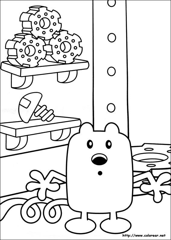 wubbzy coloring pages - dibujos para colorear de wow wow wubbzy