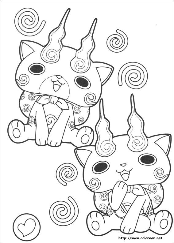 Dibujos de Yo-kai Watch para colorear en Colorear.net